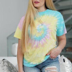 Sweet as Cotton Candy Tie Dye T-Shirt